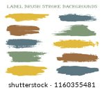 cool label brush stroke... | Shutterstock .eps vector #1160355481