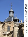 Salamanca Church of San Sebastian - stock photo