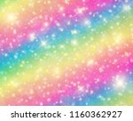 vector illustration of galaxy... | Shutterstock .eps vector #1160362927