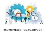 vector illustration concept of... | Shutterstock .eps vector #1160389387