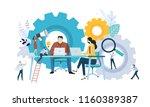 vector illustration concept of... | Shutterstock .eps vector #1160389387