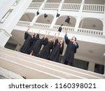 graduation friend achievement... | Shutterstock . vector #1160398021
