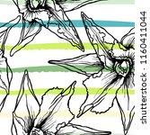 tropical  stripe  animal motif. ... | Shutterstock .eps vector #1160411044