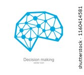 decision making  creative... | Shutterstock .eps vector #1160414581