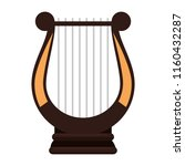 harp music instrument icon | Shutterstock .eps vector #1160432287