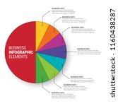 modern infographic choice... | Shutterstock .eps vector #1160438287