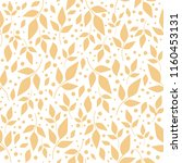 seamless pattern with orange... | Shutterstock .eps vector #1160453131