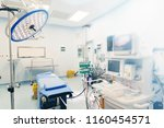 operating room for surgical... | Shutterstock . vector #1160454571