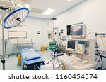 operating room for surgical... | Shutterstock . vector #1160454574
