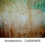 abstract the old grunge wall... | Shutterstock . vector #116045605