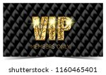 vip card. members only | Shutterstock . vector #1160465401