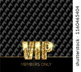 vip card. members only | Shutterstock . vector #1160465404
