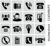 phone icons | Shutterstock .eps vector #116048695