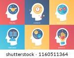 vector concept feeling ... | Shutterstock .eps vector #1160511364