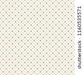 golden abstract floral seamless ... | Shutterstock . vector #1160535571