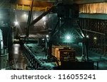 industrial night scene at the...   Shutterstock . vector #116055241