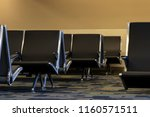 empty seats in the waiting area ... | Shutterstock . vector #1160571511