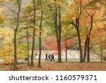 fall color in bear mountain | Shutterstock . vector #1160579371