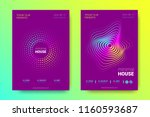 electronic music party poster... | Shutterstock .eps vector #1160593687