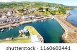 carnlough harbour glencloy co.... | Shutterstock . vector #1160602441