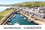 carnlough harbour glencloy co.... | Shutterstock . vector #1160602444