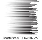 speed lines flying particles... | Shutterstock .eps vector #1160607997
