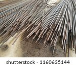 rusty steel wire | Shutterstock . vector #1160635144