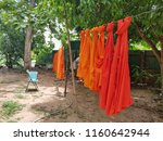 robe are hanging   Shutterstock . vector #1160642944