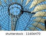roof of new commercial center... | Shutterstock . vector #11606470