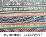 patterns and designs on hand... | Shutterstock . vector #1160649037