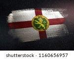 alderney flag made of metallic...   Shutterstock . vector #1160656957