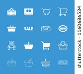 purchase icon. collection of 16 ... | Shutterstock .eps vector #1160686534