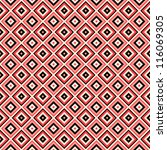vector seamless geometric... | Shutterstock .eps vector #116069305