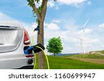 electric car renewable clean...   Shutterstock . vector #1160699947