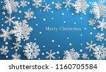 christmas illustration with... | Shutterstock .eps vector #1160705584