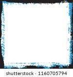 vector grunge frame.distress... | Shutterstock .eps vector #1160705794