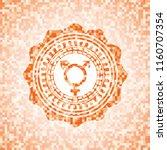 transgender icon inside... | Shutterstock .eps vector #1160707354