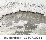 white and gray walls old. | Shutterstock . vector #1160710261