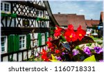 the village sasbachwalden in... | Shutterstock . vector #1160718331