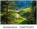 landscape on famous route 500... | Shutterstock . vector #1160731651