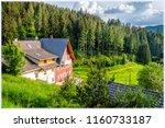 landscape in black forest ... | Shutterstock . vector #1160733187