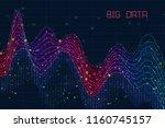 abstract infographics... | Shutterstock . vector #1160745157