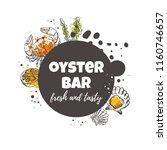 oyster bar concept design....   Shutterstock .eps vector #1160746657