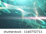 abstract polygonal space on... | Shutterstock . vector #1160752711