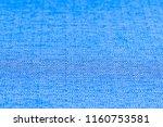 blue fabric texture. abstract... | Shutterstock . vector #1160753581