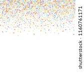 sprinkles grainy. sweet... | Shutterstock .eps vector #1160761171