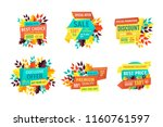sale and discount  best choice... | Shutterstock .eps vector #1160761597