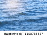 water wave in tropical sea for... | Shutterstock . vector #1160785537