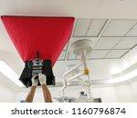 air flow test for vav  ... | Shutterstock . vector #1160796874