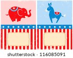 symbols of u.s. democratic and...